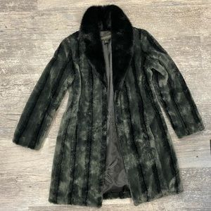 Kristen Blake fur coat